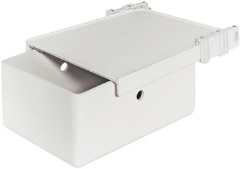 Built-in bread bin, With fixed lid
