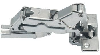 Concealed hinge, Metallamat A/SM 175°, full overlay mounting