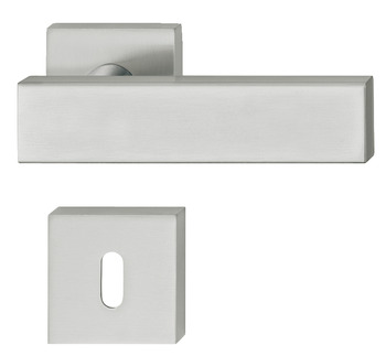 Door handle set , stainless steel, Startec, Ludmila, rose