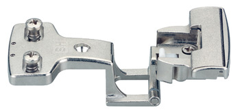 Hinge, for side panel thickness 19 mm