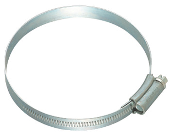 Hose clip, For flexible ducts