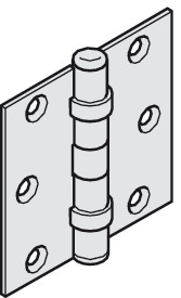 Individual components, Ball bearing hinge