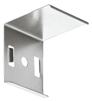Mounting plate, For corner profile