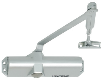 Overhead door closer, Startec DCL 110, with arm assembly, EN 3