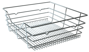 Pull-out wire basket, for base cabinet fittings, 900 mm wide