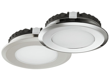 Recess mounted light, Round, Häfele Loox LED 2039, 12 V