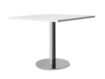 Single column table base, Flat base