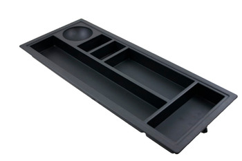 Sliding pencil tray