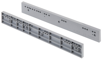 Spacer, For pull-out frames, shelves and shoe racks