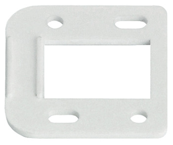 Spacer plate, for spring hinge
