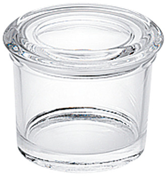 Spice jar with glass lid, for AGO-vario cutlery tray