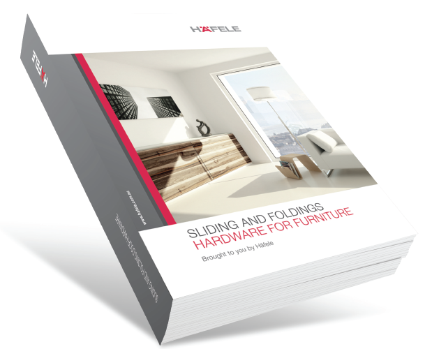 The 2014 Häfele Sliding and Folding Catalogue for Furniture