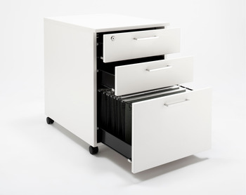 3 sided folding steel drawer, 75 mm high