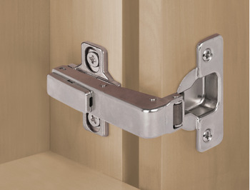 94º Blind Panel Silentia+ Hinge, Series 100 with integrated silicone oil dampers