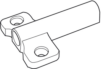 Adapter housing, With positioning aid