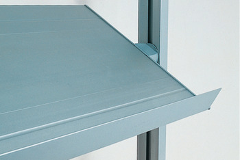 Aluminium profile, for Logo shelf system