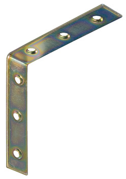 Angled bracket, With 6 screw holes