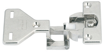 Architectural hinge, Aximat 100 A, for full overlay mounting, 6 mm gap