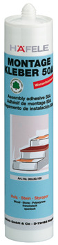 Assembly adhesive, Häfele, dispersion adhesive