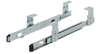 Ball bearing runner, Single extension