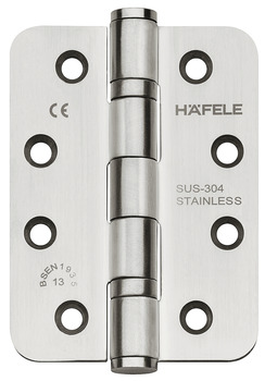 Butt hinge, For flush interior doors up to 120 kg, Startec