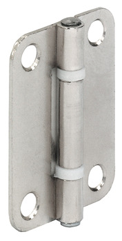 Butt hinge, for folding sliding doors, size 40 x 30 mm