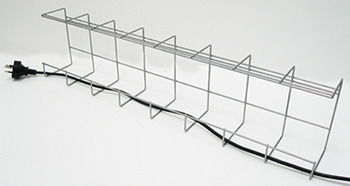 Cable baskets, single tier