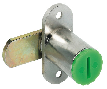 Cam lock, Symo, with mounting plate