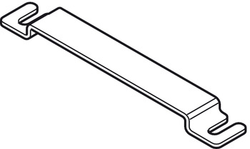 Connecting piece, For folding sliding doors