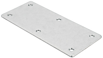 Connecting plate, with 6 screw holes