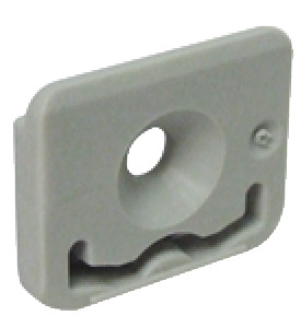Cover cap, for single running and guide track