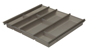 Cusio cutlery tray, For Hafele Alto and Blum Tandembox drawers