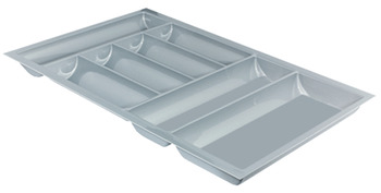 Cutlery tray, nominal length 550 mm, for cutting to size