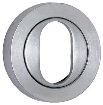 Cylinder escutcheon, Oval