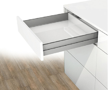 Drawer, Grass Nova Pro Scala, drawer side height 90 mm, load bearing capacity 40/70 kg