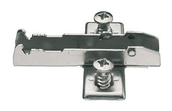 ECO cruciform mounting plate, fixing with pre-assembled Euro screws