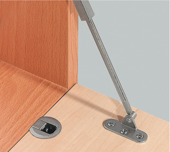 Flap hinge, Häfele Minifix<sup>®</sup>, 90°, for wooden flaps