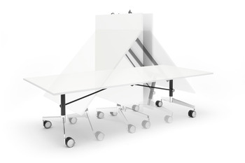 Folding conference table, Sienna