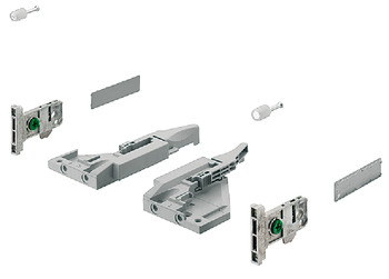 Front fixing bracket set, For Vionaro H185 drawer