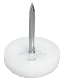 Furniture glide, height 5 mm, plastic, for knocking in