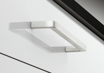 Furniture handles, D handle, stainless steel, square