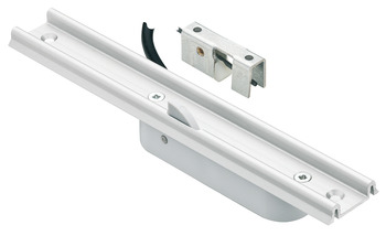 Glass sliding door lock, EFL 41, Dialock, mains-operated lock