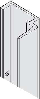 Handle profile, For frame profile for glass doors