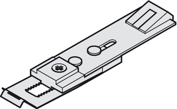 Hold open insert, For retro-fitting into guide rail