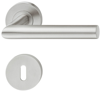 Lever handle set, Stainless steel, Startec, model PDH4171, grade 4