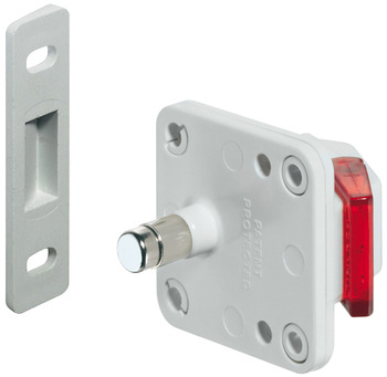 Magnetic lock system for doors, Safe-fix