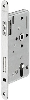 Magnetic mortise lock, For hinged doors, profile cylinder, 116 1/2