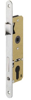 Mortise lock, for hinged doors, Startec, profile cylinder, backset 40 mm