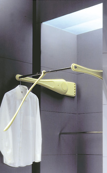 Only Wardrobe lift, For mounting to side panel, load-bearing capacity 12 kg