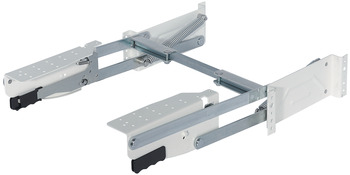 Parallel foldaway fitting, load-bearing capacity 8 kg or 10 kg